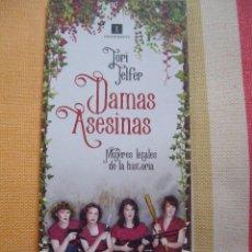 Coleccionismo Marcapáginas: MARCAPAGINAS DAMAS ASESINAS MUJERES LETALES DE LA HISTORIA EDICIONES IMPEDIMENTA. Lote 241126725