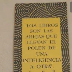 Coleccionismo Marcapáginas: MARCAPÁGINAS 1997 ILUSTRA GEMA ORTEGA. Lote 192677171