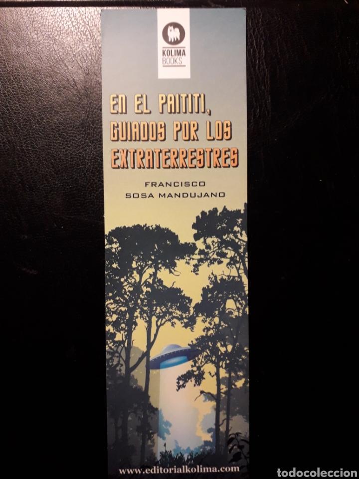 MARCAPAGINAS EDITORIAL KOLIMA. F SOSA MANDUJANO PEDIDO MÍNIMO 3 EUROS. EL DE LA FOTO O SIMILAR (Coleccionismo - Marcapáginas)