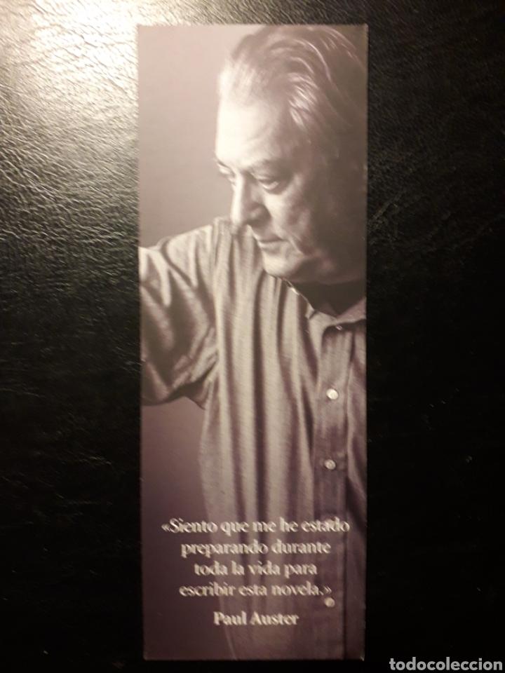 Coleccionismo Marcapáginas: MARCAPAGINAS EDITORIAL SEIX BARRAL. PAUL AUSTER. 4321. PEDIDO MÍNIMO 3 EUROS. - Foto 2 - 193758313