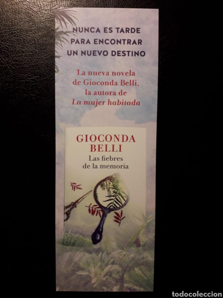 MARCAPAGINAS EDITORIAL SEIX BARRAL. G BELLI. LAS FIEBRES DE LA MEMORIA. PEDIDO MÍNIMO 3 EUROS. (Coleccionismo - Marcapáginas)