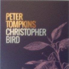 Coleccionismo Marcapáginas: MARCAPÁGINAS EDITORIAL CAPITAN SWING-LA VIDA SECRETA DE LAS PLANTAS -- PETER TOMPKINS. Lote 193767415