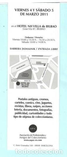 Coleccionismo Marcapáginas: MARCAPÁGINAS DE EDITO DE PAPERANTIC TITULO II MADRID EL AÑO 2005 - Foto 2 - 194011617