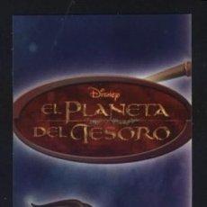 Coleccionismo Marcapáginas: A-7349- PUNTO DE LIBRO. MARCAPÁGINAS. EL PLANETA DEL TESORO. DISNEY. EVEREST.. Lote 194099347