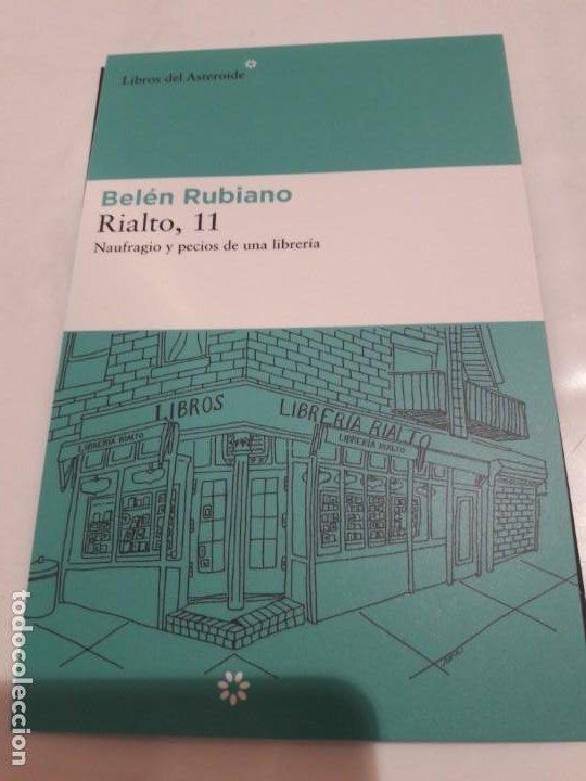 MARCAPÁGINAS. TAMAÑO POSTAL. LIBROS DEL ASTEROIDE. BELEN RUBIANO. RIALTO, 11 (Coleccionismo - Marcapáginas)