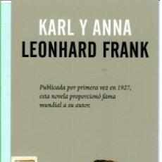 Coleccionismo Marcapáginas: MARCAPÁGINAS DE EDITO ERRATA NATURAE TUTULO KARL Y ANNA. Lote 194300851