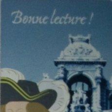 Coleccionismo Marcapáginas: MARCAPÁGINAS BONNELECTURE ¡. Lote 194312547