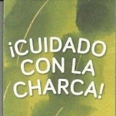 Coleccionismo Marcapáginas: MARCAPÁGINAS. BULULÚ. JOSE CARLOS ROMÁN. ¡CUIDADO CON LA CHARCA!. Lote 222118055