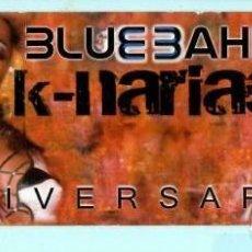 Coleccionismo Marcapáginas: MARCAPÁGINAS DE EDITO DE BLUE BAHIA TITULO SUND MUSIC SALOU . Lote 194590356