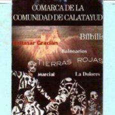 Coleccionismo Marcapáginas: MARCAPÁGINAS DE EDITO DE DIPUTACION DE ZARAGOZA TITULO COMARCA DE LA COMUNIDAD DE CATALUÑA . Lote 194590717