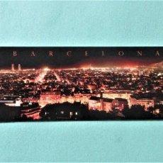 Coleccionismo Marcapáginas: MARCAPAGINAS VISTA NOCTURNA DE BARCELONA. Lote 194634572