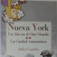 Coleccionismo Marcapáginas: MARCAPÁGINAS EDITORIAL REINO DE CORDELIA. NUEVA YORK-. Lote 194732858