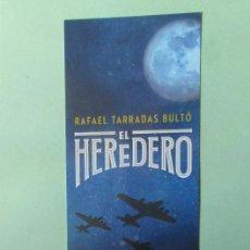 Coleccionismo Marcapáginas: MARCAPAGINAS EDITORIAL ESPASA EL HEREDERO . Lote 194754122