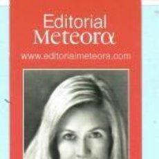 Coleccionismo Marcapáginas: MARCAPÁGINAS DE EDITO METEORA TITULO UNA MÁGIA MOLT CLARA . Lote 194774760