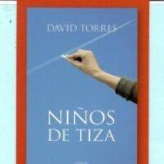 Coleccionismo Marcapáginas: MARCAPÁGINAS DE EDITO ALGAIDA TITULO NIÑOS DE TIZA. Lote 194774898