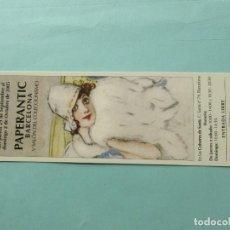 Coleccionismo Marcapáginas: MARCAPAGINAS PAPERANTIC BARCELONA 2.005. Lote 194909638