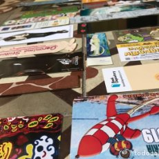 Coleccionismo Marcapáginas: LOTE 33 MARCAPAGINAS PUNTOS DE LIBRO LECTURA ESPAÑA ALEMANIA TINTIN SUPERLOPEZ SUPER LOPEZ STILTON. Lote 194987335