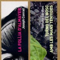 Coleccionismo Marcapáginas: 2 MARCAPÁGINAS L'AVENÇ. Lote 245312355