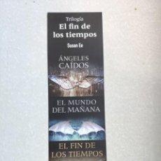 Coleccionismo Marcapáginas: MARCAPÁGINAS - OCEANO - GRANTRAVESÍA - EL FIN DE LOS TIEMPOS - ÁNGELES CAIDOS - EL MUNDO DEL MAÑANA. Lote 195140516