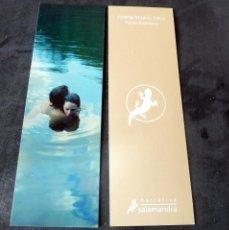 Coleccionismo Marcapáginas: MARCAPÁGINA - SALAMANDRA - CONQUISTAR EL CIELO - PAOLO GIORDANO. Lote 195194300
