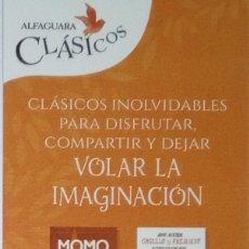Coleccionismo Marcapáginas: MARCAPÁGINAS EDITORIAL ALFAGUARA,CLASICOS-. Lote 195412678