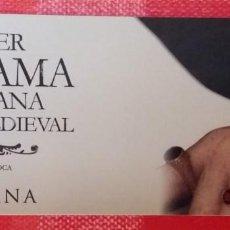 Coleccionismo Marcapáginas: MARCAPÁGINAS/PUNTO DE LIBRO-EL PODER D'UNA DAMA CATALANA A LA CORT MEDIEVAL-MARIA CARME ROCA-COLUMNA. Lote 195462151