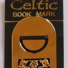 Coleccionismo Marcapáginas: MARCAPAGINAS, CELTIC BOOK MARK SEA GEMS REF-2 METALICO. Lote 197671115