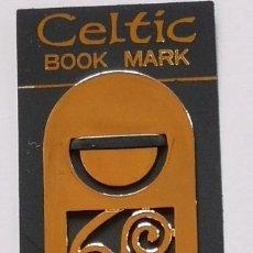 Coleccionismo Marcapáginas: MARCAPAGINAS, CELTIC BOOK MARK SEA GEMS REF-4 METALICO. Lote 197673021