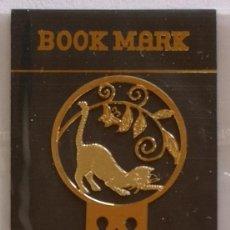 Coleccionismo Marcapáginas: MARCAPAGINAS, CELTIC BOOK MARK SEA GEMS REF-11 METÁLICO CHAPADO DORADO. Lote 197753246