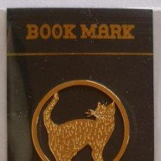 Coleccionismo Marcapáginas: MARCAPAGINAS, CELTIC BOOK MARK SEA GEMS REF-12 METÁLICO CHAPADO DORADO. Lote 197753553