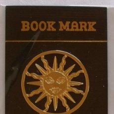 Coleccionismo Marcapáginas: MARCAPAGINAS, CELTIC BOOK MARK SEA GEMS REF-13 METÁLICO CHAPADO DORADO. Lote 197753708