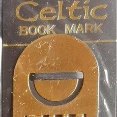 Coleccionismo Marcapáginas: MARCAPAGINAS, CELTIC BOOK MARK SEA GEMS REF-18 METÁLICO CHAPADO DORADO. Lote 198144631
