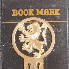 Coleccionismo Marcapáginas: MARCAPAGINAS, CELTIC BOOK MARK SEA GEMS REF-19 METÁLICO CHAPADO DORADO. Lote 198144855