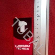 Coleccionismo Marcapáginas: TUBAL LLIBRERIA TECNICA PEGATINA PUNTO DE LIBRO LECTURA MARCAPÁGINAS 30 GRS B58. Lote 198225758