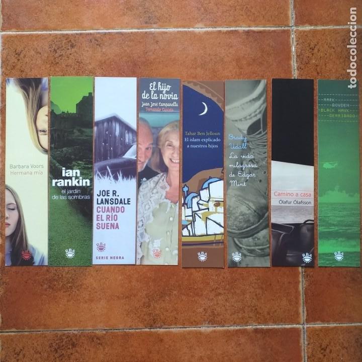 Coleccionismo Marcapáginas: LOTE 14 MARCAPAGINAS ANTIGUOS RBA - Foto 2 - 202935937