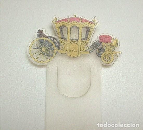 MARCAPÁGINAS DEL MUSEU NACIONAL DOS COCHES (LISBOA, PORTUGAL) COCHE D. JOAO V (Coleccionismo - Marcapáginas)