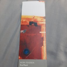 Coleccionismo Marcapáginas: MARCAPAGINAS. EDITORIAL XORDICA. ROPA TENDIDA. EVA PUYO. Lote 204684472