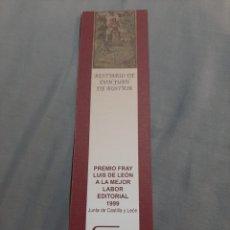 Coleccionismo Marcapáginas: MARCAPAGINAS. EDITORIAL SILOE. BURGOS. BESTIARIO DE DON JUAN DE AUSTRIA.. Lote 204684786