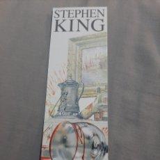 Coleccionismo Marcapáginas: MARCAPAGINAS. STEPHEN KING. TODO ES EVENTUAL. EDITORIAL PLAZA JANES. Lote 204684945