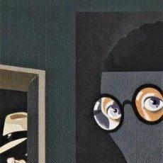Coleccionismo Marcapáginas: EDUARDO ARROYO ( WHITE AMENAZADO POR SUS SEGUIDORES EN EL MISMO LONDRES) - MUSEO THYSSEN BORNEMISZA. Lote 205468432
