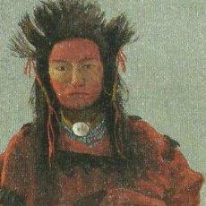 Coleccionismo Marcapáginas: MARCAPÁGINAS ALBERT BIERSTADT (CINCO RETRATOS DE INDIOS NORTEAMERICANOS) - MUSEO THYSSEN BORNEMISZA. Lote 205629996