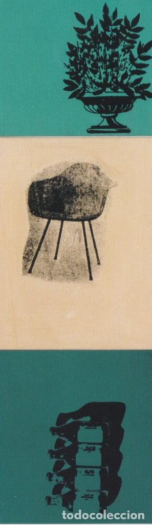 MARCAPÁGINAS ANDY WARHOL ( ANUNCIO DE CORPORATE TRADE ) - MUSEO THYSSEN BORNEMISZA (Coleccionismo - Marcapáginas)