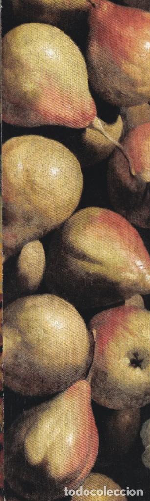 MARCAPÁGINAS ZUBARÁN (PERAS EN CUENCO DE PORCELANA) - MUSEO THYSSEN BORNEMISZA (Coleccionismo - Marcapáginas)