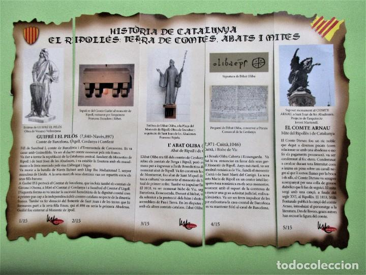 PUZZLE MARCAPAGINAS HISTORIA DE CATALUNYA (Coleccionismo - Marcapáginas)