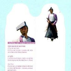 Coleccionismo Marcapáginas: MARCAPÁGINAS DE EDICION SEGUICI FESTIU DE REUS EL GEGANT CARRASCLET Nº 6. Lote 208825735