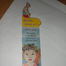 Coleccionismo Marcapáginas: MARCAPÁGINAS GLORIA FUERTES NIÑOS, EDITA SUSAETA. Lote 210221665