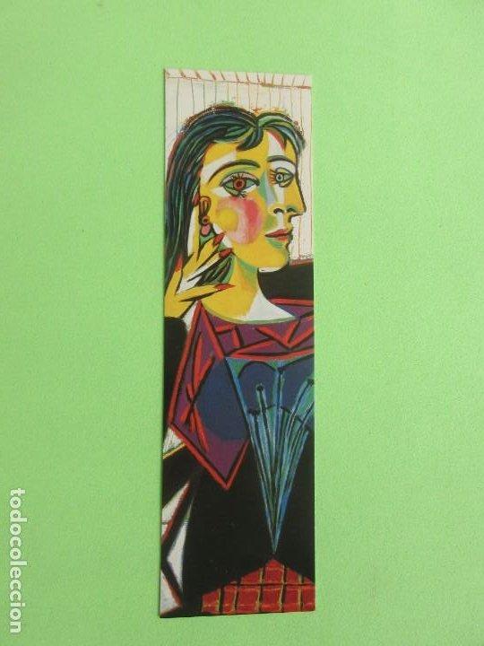 MARCAPAGIMAS ( PABLO PICASO ) (PORTRAIT DE DORA MAR ) MUSEO NACIONAL PICASO PARIS (Coleccionismo - Marcapáginas)