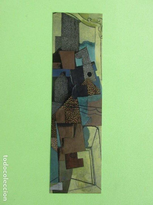 MARCAPAGIMAS ( PABLO PICASO ) (HOME A LA CHEMINES ) MUSEO PICASO PARIS (Coleccionismo - Marcapáginas)