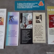 Coleccionismo Marcapáginas: 6 MARCAPÁGINAS RELIGIOSOS. Lote 210452860