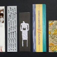 Coleccionismo Marcapáginas: MARCAPÁGINAS. LOTE 9 UNIDADES. Lote 212425693